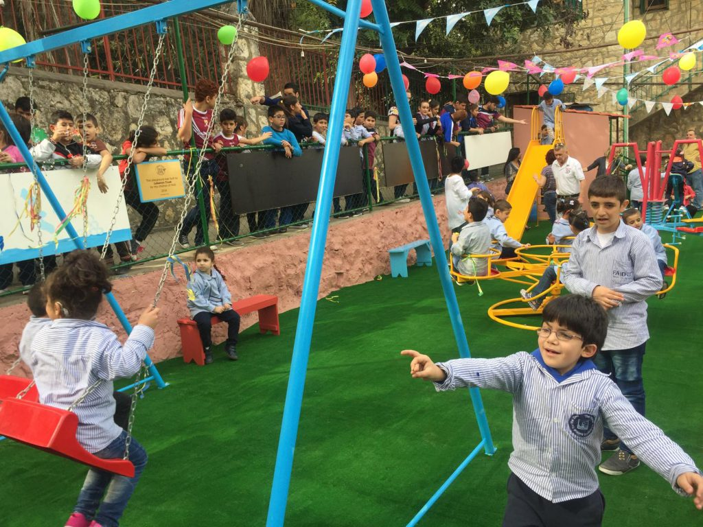 FAID''s children are ecstatic with their new playground